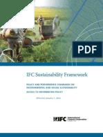IFC Sustainability Framework
