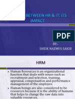 Linkage Between Hr & It