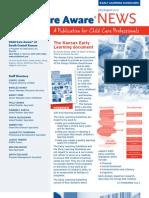 Child Start CCR&R  Newsletter July August 2012