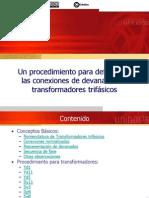 Conexiones Devanados Transformadores Trifasicos