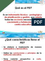 Inducción del PEI 2011