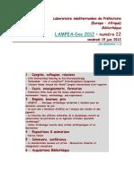 LAMPEA-Doc 2012 – numéro 22 / vendredi 15 juin 2012