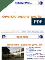 Devendra Exports Profile JAN 09-1
