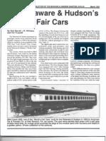 D&H World's Fair Cars