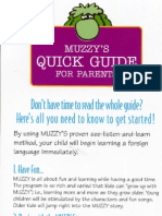 (English Kids)(Book) Muzzy Quick Guide for Parents
