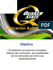 0526 Lubricación Automotriz y principios de consiabilidad