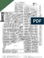 2012 LNA Garage Sale Map and List