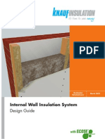 Brochure Internal Wall Insulation System Design Guide March 2010