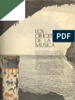 orígenes de la música
