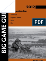 2012 Big Game Guide - Nebraska Game and Parks