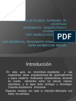 Arq. Posmoderna y Supramoderna en Mexico