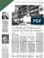 Los libres no reconocen rivales de Paco I. Taibo II en El Universal
