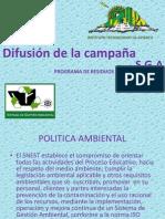 Difusión de la campaña itapizaco