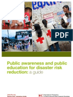 IFRC Public Awareness and Public Education for Disaster Risk Reduction