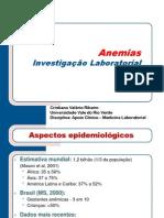 05. Investigação Laboratorial das Anemias