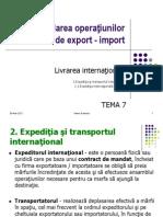 Prezentare TEMA7MAI 2 1 Expeditia Internationala Maritima