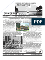 Summer 2012 Newsletter - North Berrien Historical Society