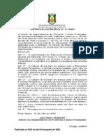 Instrução Normativa DEFAP_SEMA n° 01_06