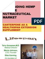 Canterpene for Lifespan Healthspan Augmentation