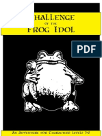 Challenge of the Frog Idol