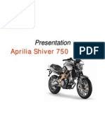 Aprilia Aftersales in-DLR Shiver Instrument Panel Shiver 750
