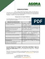 CONVOCATORIA TELEOPERADORES