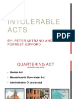 The Intolerable Acts PDF