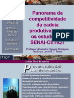 Fashion Panorama Da Cadeia Textil Brasileira Cetiqt