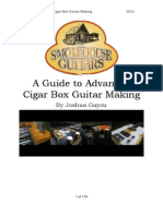 Advanced Cigar Box Guitar Construction