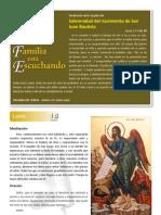Meditaciones y Oraciones sobre el Evangelio de la Fiesta de San Juan Bautista