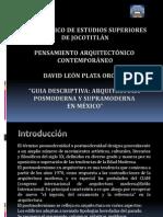 ARQ. Pos y Supramoderna