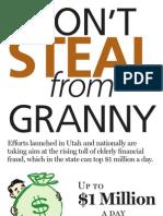 Elder financial abuse in Utah