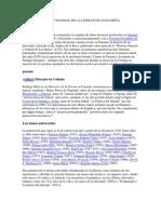 PERIODO COLONIAL DE LA LITERATURA PANAMEÑA