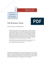 The subprime crisis - Adrian Ravier and Peter Lewin