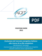 AIGETposition Paper 2012