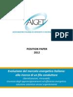 AIGETposition Paper 2012