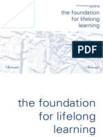 The Foundation for Lifelong Learning