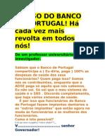 o Caso Do Banco de Portugal
