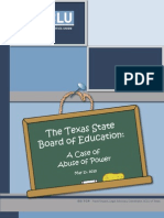 The Texas State Board of Education