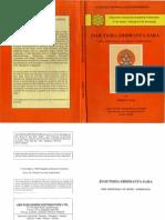 Jyotisha-Siddhant-Sara Hindu Astrology B0006F4Y5G