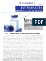 Euthanasie Belgique 10 Ans de Depenalisation