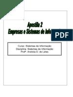 Apostila 02 Empresas e Sistemas de Informacao