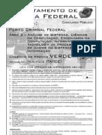 Prova de Perito Policia Federal - Area Informatica