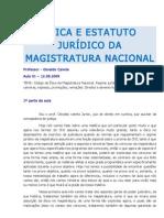 Etica Da Magistratura