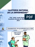 Historia Natural de La Enfermedad 2012