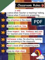 2E Classroom Rules