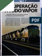 Recuperação a todo vapor - revista Rodovias e Vias Maio2012