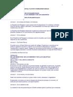Constitucion Nacional y Leyes Complementarias
