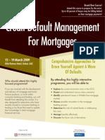 Credit Default Management