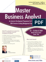 Master Business Analyst